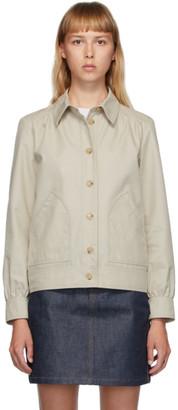 A.P.C. Beige 70s Double Jacket