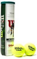 Wilson Tour Tennis Balls 4 Balls