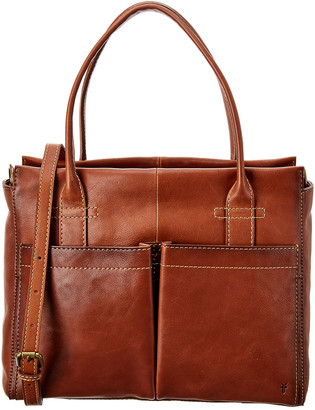Frye Mindy Pocket Leather Satchel
