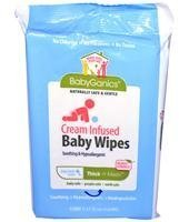 BabyGanics Diaper Rash Wipes - 40 Count
