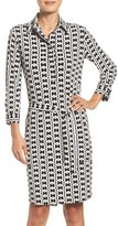 Laundry by Shelli Segal Women's Print Shirtdress