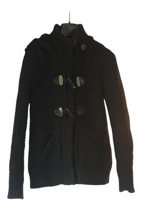 Bark Navy Wool Coats