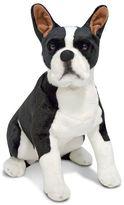 Melissa & Doug Plush Boston Terrier