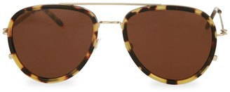 Tomas Maier 52MM Aviator Core Sunglasses