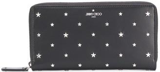 Jimmy Choo Carnaby star-applique wallet
