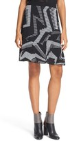 M Missoni Women's Geo Knit Skirt