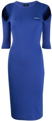 Marcelo Burlon County of Milan County rib open dress