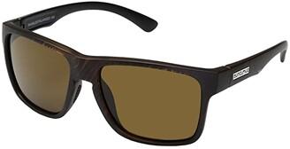 SunCloud Polarized Optics Rambler (Black Gray Fade/Polarized Silver Mirror Polycarbonate Lens) Sport Sunglasses