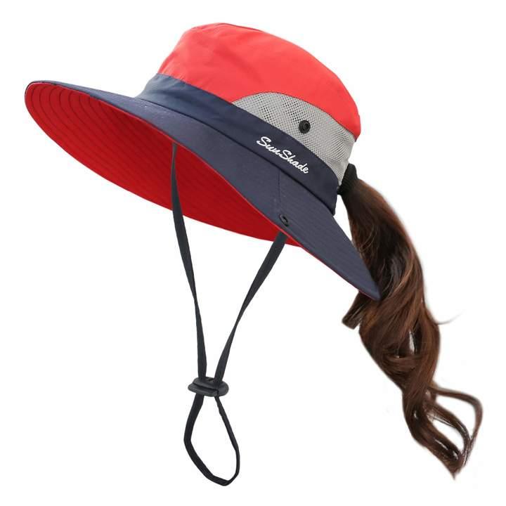 52392d8adac6d Wide Brim Hat Navy - ShopStyle Canada