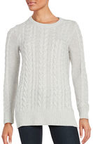 Lord & Taylor Cable-Knit Sweater