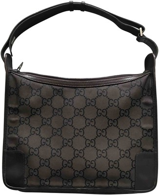 Gucci Hobo Brown Leather Handbags