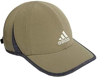 adidas Superlite Relaxed Adjustable Performance Cap (Legacy Green/Dark Heather Grey/Orbit Grey) Baseball Caps