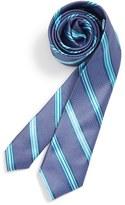 Michael Kors Stripe Silk Tie (Big Boys)