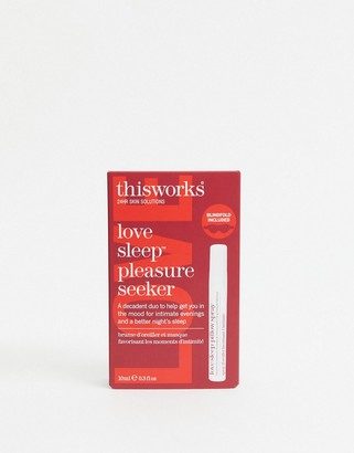 This Works Love Sleep Pleasure Seeker Kit - Blindfold And Love Me Spray