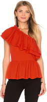 Endless Rose One Shoulder Ruffle Top