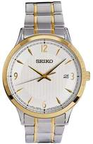 Seiko Men's Two-Tone Stainless Steel Bracelet Watch