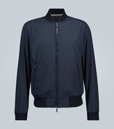 Ermenegildo Zegna Technical seersucker bomber jacket