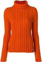 Salvatore Ferragamo cable knit turtleneck