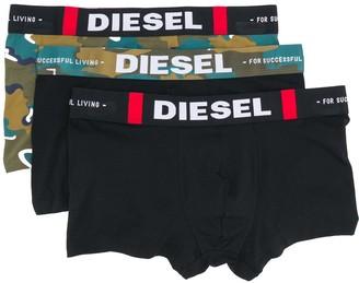 Diesel UMBX-Damien three-pack boxers