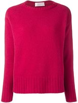 Zanone ribbed detailing pullover
