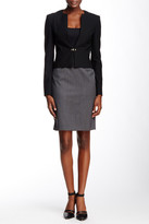 HUGO BOSS Vilea Wool Blend Skirt