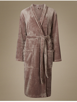 M&S Collection Tie Front Dressing Gown