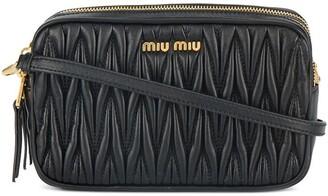 Miu Miu Mini Matelasse Crossbody Bag