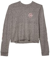 Vans Kids About Round (Big Kids) (Grey Heather) Girl's Clothing