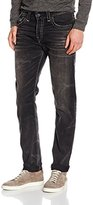 True Religion Men's ROCCO NO FLAP NIGHT GALAXY Slim Jeans,30W x 34L