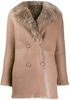 Mila Louise Liska reversible coat