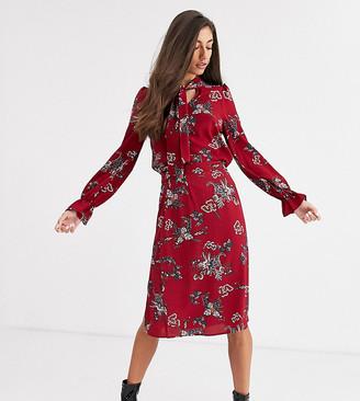 Vero Moda Tall paisley pussybow blouse