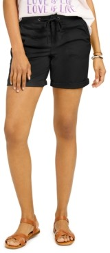 Style&Co. Style & Co Petite Knit Waistband Shorts, Created for Macy's