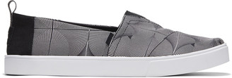 Toms Black and White Cupsole Alpargatas