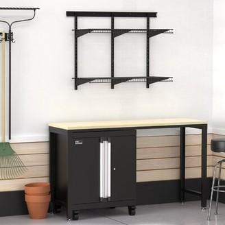 ClosetMaid ProGarage 3 Piece Cabinet & MaxLoad Shelf Set