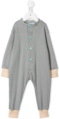 Eshvi Kids Ribbed Button Front Pajamas