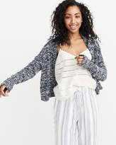 Abercrombie & Fitch Marled Cardigan