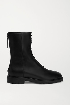 LEGRES 08 Leather Ankle Boots - Black