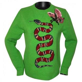 Gucci Green Wool Knitwear