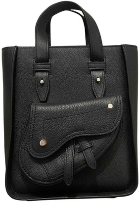 Christian Dior Black Leather Bags
