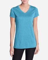 Eddie Bauer Women's Resolution V-Neck Shirt - Striped