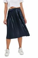 Topshop Women's Pleat Jersey Midi Skirt