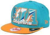 New Era Miami Dolphins Big City 9FIFTY Snapback Cap