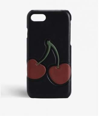 Factory The Case Iphone 7-8 Calf Black Cherry