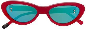 Doublet Cat-Eye Sunglasses