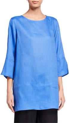 Caroline Rose Tissue Linen Panel Tunic