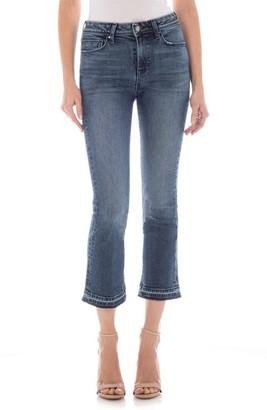 Fidelity Hayden Cropped Flare Jeans