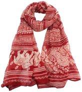 ABC Scarf, Women Ladies Neck Stole Elephant Print Long Scarf Shawl Wrap Pashmina