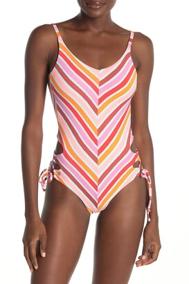 Maaji Praia Arco Iris Reversible One-Piece Swimsuit