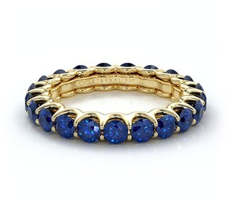 The Eternal Fit 14K 3.10 Ct. Tw. Sapphire Eternity Ring
