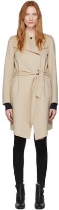 Mackage Beige Wool Laila Coat